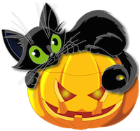 Large_Transparent_Halloween_Pumpkin_with_Black_Cat_Clipart